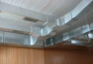 Металлические воздуховоды